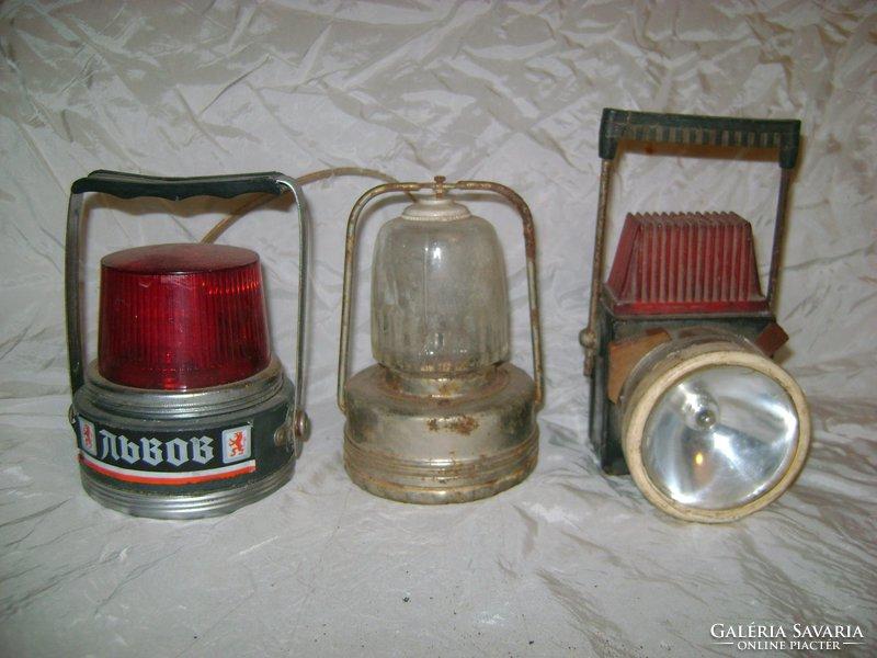 Három darab régi lámpa együtt eladó - Lámpa, csillár  Galéria Savaria online piactér - Antik ...