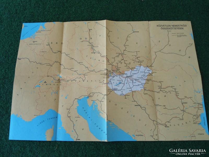 máv online térkép MÁV közvetlen nemzetközi összekötetések térkép, Máv nemzetközi  máv online térkép