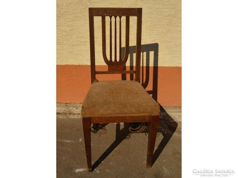 0221 Antik empire stílusú szék 1880 körüli Bútor | Galéria