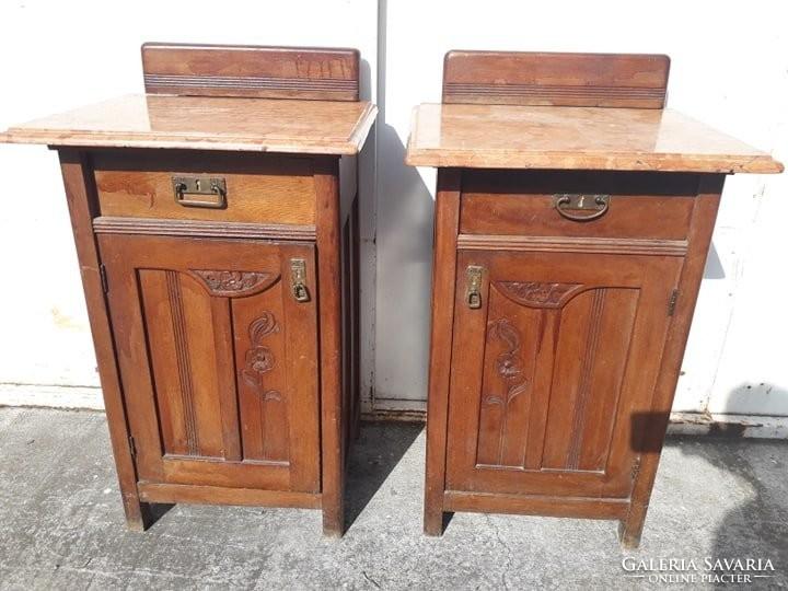 2 db szecessziós asztal. Bútor | Galéria Savaria online